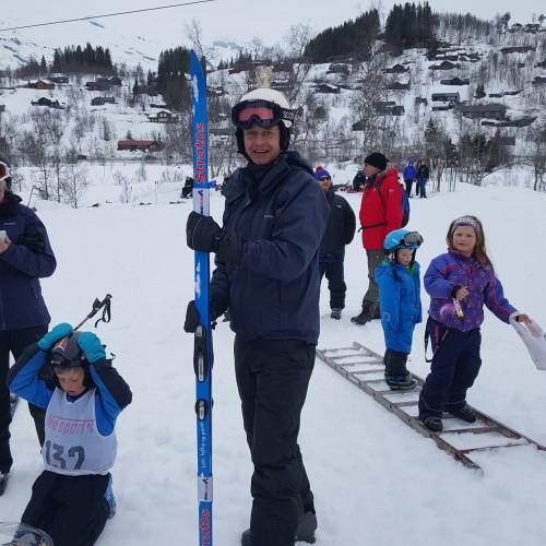 En stolt familie vant stratosski og påskeegget