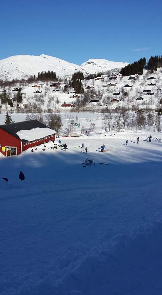 Skidag for 4.klassinger Rolland og Sælen skole